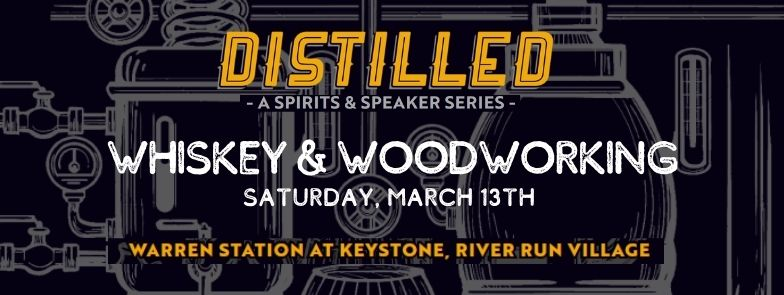 Event Logo For The Distilled Series