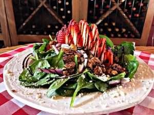 Salad from Luigi's Pasta House