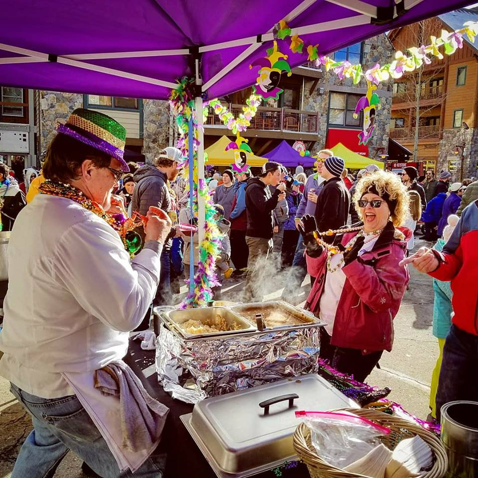 Mardi Gras and Gumbo Cook Off at Keystone