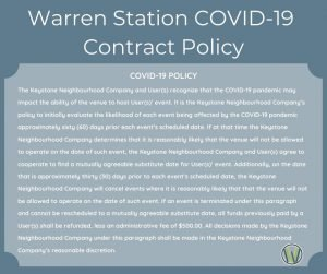 Cancellation policy due to COVID-19 Pandemic