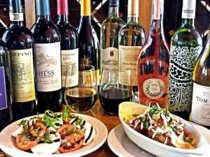 Wine Selection from Luigi's Pasta House