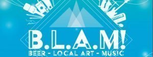 BLAM beer, local art and music