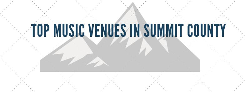 Top Live Music Venues In Summit County