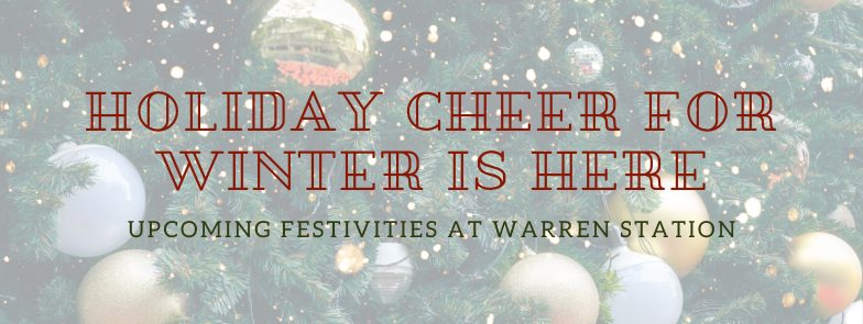 HOLIDAY CHEER FOR WINTER IS HERE!