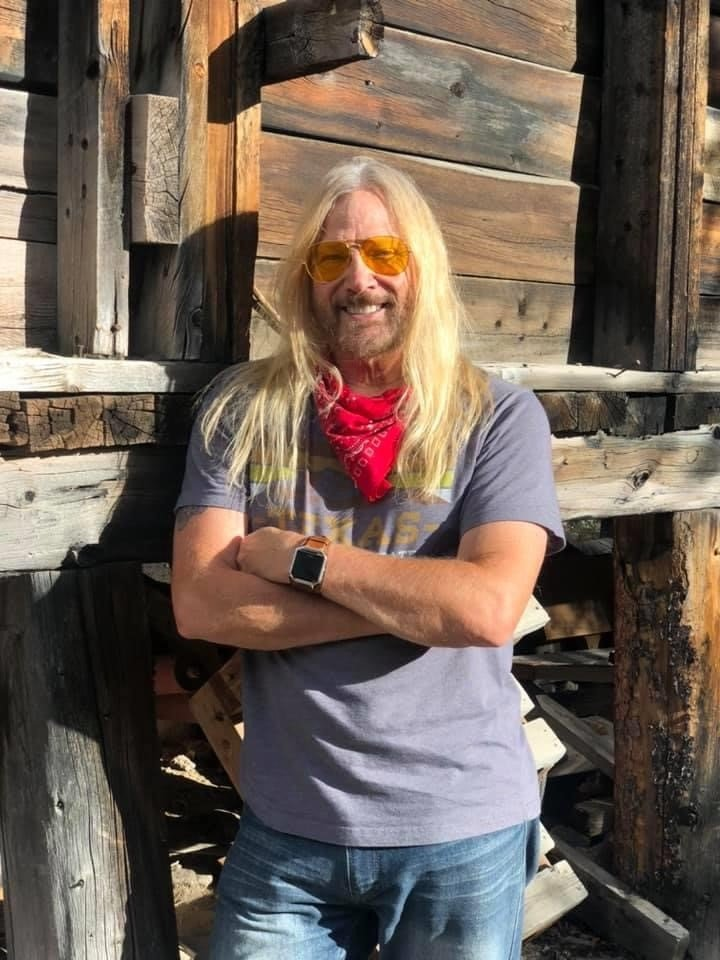 """picture of Steve """"Mudflap"""" McGrew the headlining comedian"""