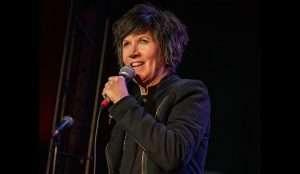 head shot of Nancy Norton for Warren Station's comedy night on April 3