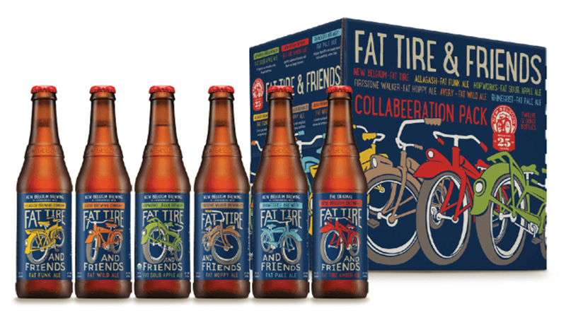 New Belgium Fat Tire And Friends Collabeeration Seminar And Tasting
