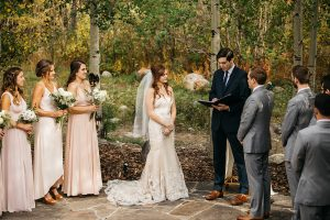Warren Station wedding ceremony