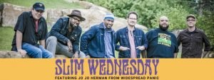 Slim Wednesday band picture with caption