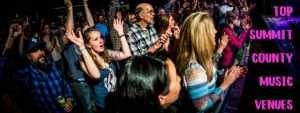 Crowd enjoying a concert at Warren Station