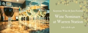Wine Seminars at Warren station