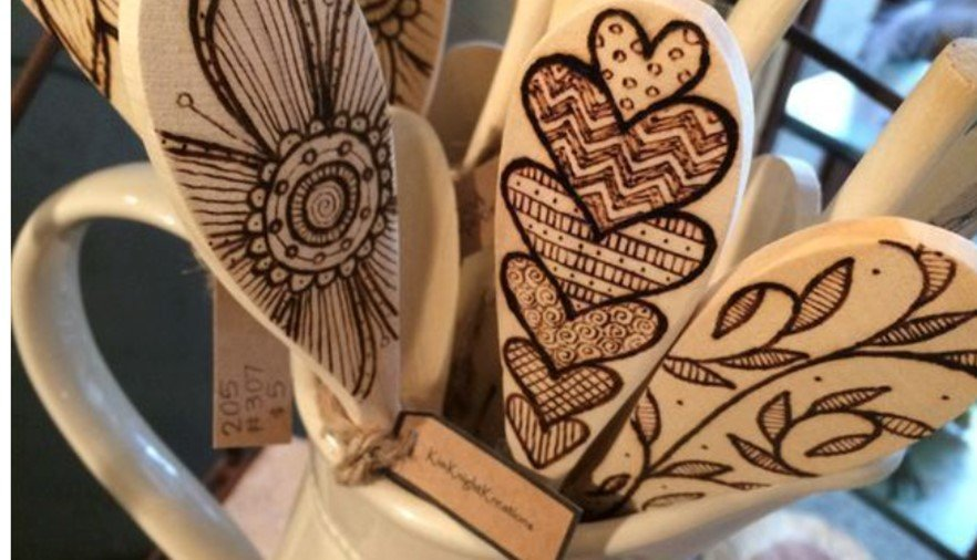 Wooden Craft Spoons