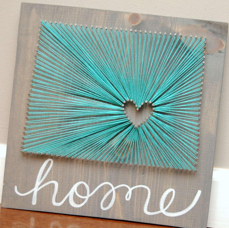 "colorado ""home"" string art"