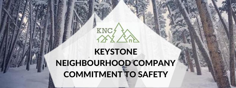 KNC's COMMITMENT TO SAFETY