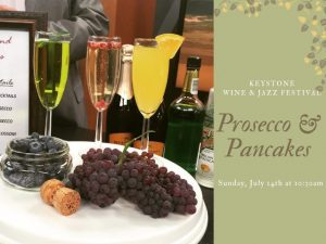 Prosecco and Pancakes