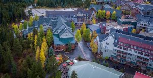 Ariel View of River Run Village at Keystone